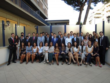 Gli studentidella Summer School of Future Leaders